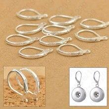 Composants de bijoux en argent Sterling 100, 925 pièces, bricolage fait à la main