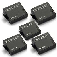 5pcs Original Eken Battery 1050mah Eken Rechargeable Li Ion Spare Battery For Eken H9 H9r H8