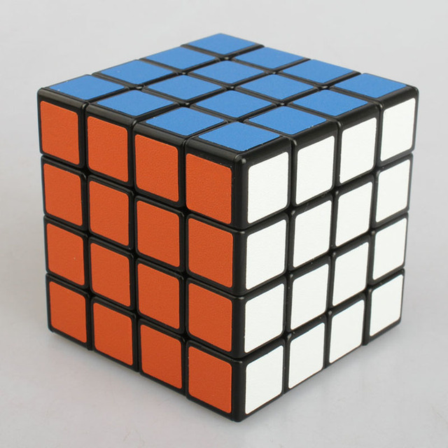 New 4*4*4 Puzzle Cube Professional Speed Cube Puzzle Cube 4X4X4 Ultra-smooth Cubo Puzzle Matte Sticker Twist Kids Learning Toy