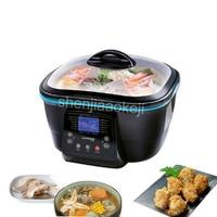 Electronic fryer 5L capacity electric health pot brush pot household multi function electric pot 220v 1500w 1pc