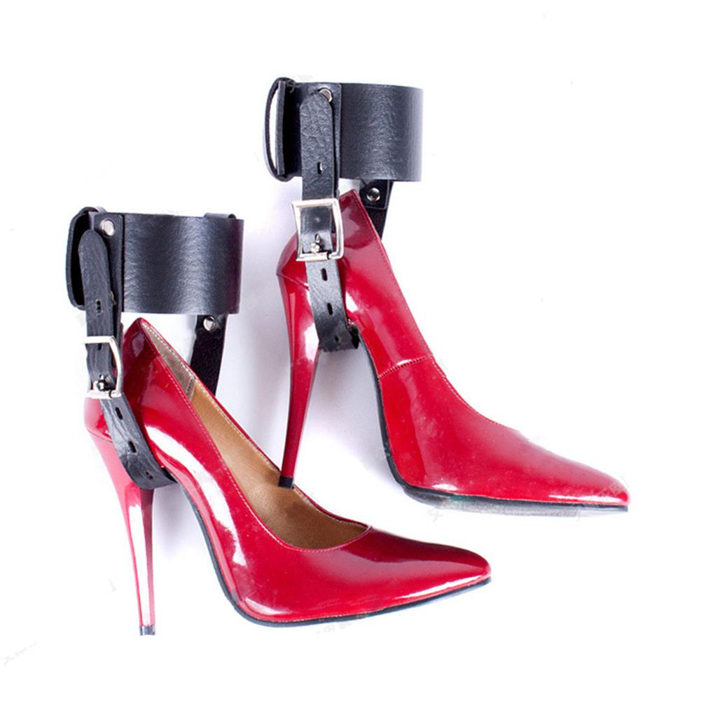 RABBITOW Feet Locking Restraint Ankle Belt Sex Toy for High-Heeled Shoes Straps