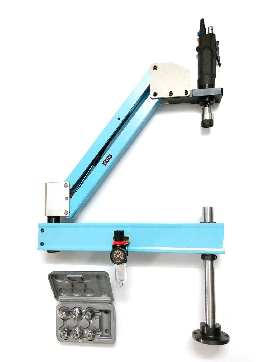 M3-M12 Verticale Tipo di Pneumatico Toccando Macchina Utensile-lavoro Rubinetti Threading Macchina Toccando Capacità Pneumatico Strumenti Tapper