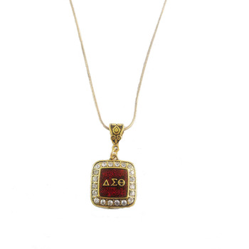 Delta Sigma Theta Sorority necklace delta Necklace With 50CM snake Chain 1pcs