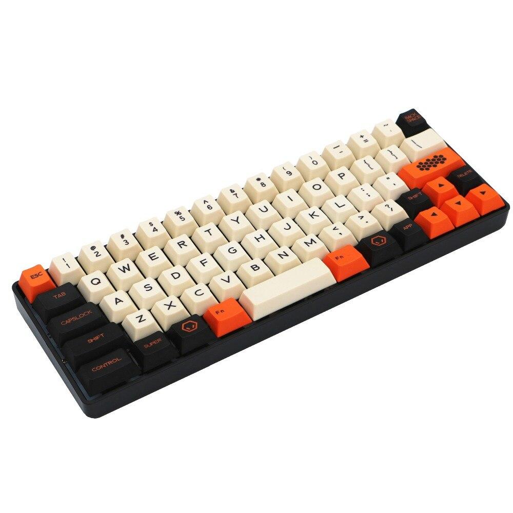 Carbón 67 Filco Minila Air PBT keycap tinte sublimado impresión 3u sapcebar MX switch cherry perfil solo vender tapas