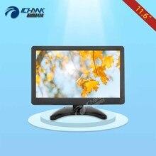 ZB116JN-V2/11.6 дюймов 1366×768 IPS HDMI fullview Встроенный динамик Дистанционное управление Мониторы штекер и диск плеер реклама машины