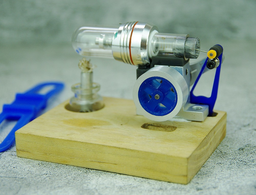Stirling Engine Motor External combustion engine model science Education toy science education