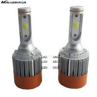 MALUOKASA 2x H15 72W 7600Lm Wireless Led Car Headlight Lamp Conversion Kit Driving Bulb DRL Car
