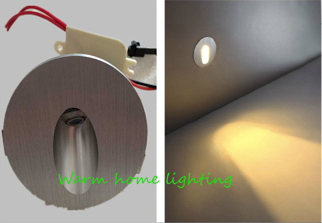 Free Shipping Round Step Light Led Indoor Pathway Light