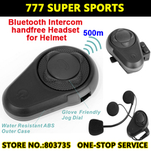BT de La Motocicleta Del Intercomunicador Del Casco de Auriculares Walkie Talkie Capacetes casco Auricular Bluetooth