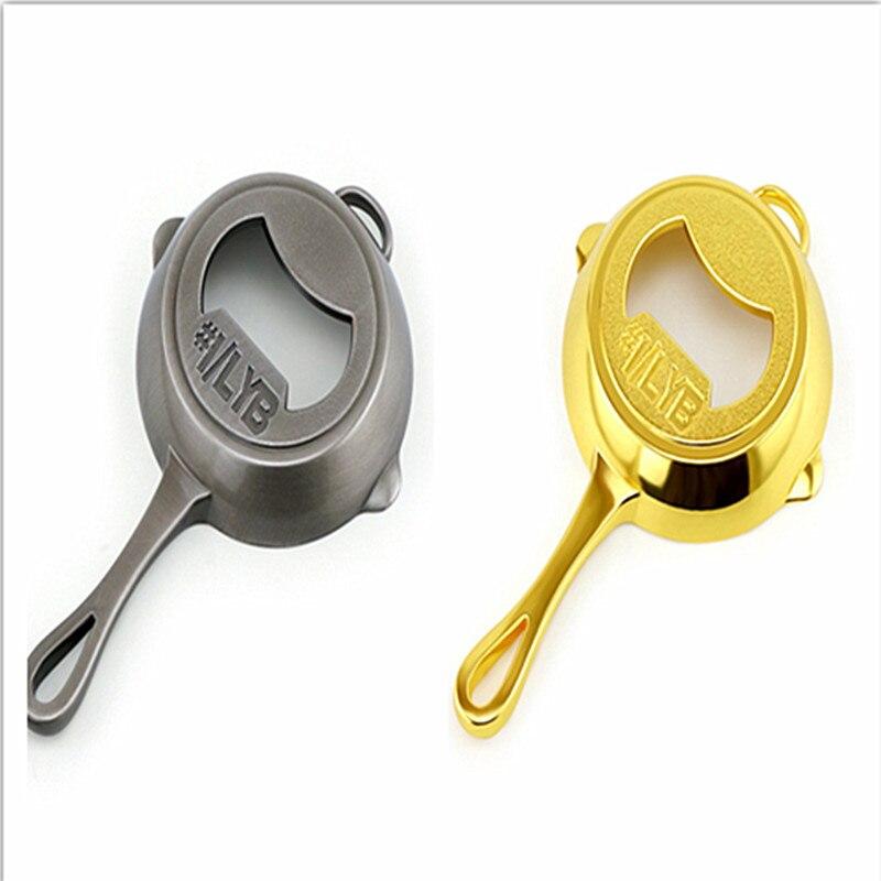 Game PUBG Frying Pan Model bottle opener Keychain Playerunknown's Battlegrounds keyring man jewelry