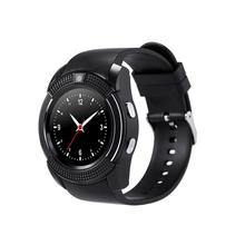 V8 Smart Watch Clock With Sim TF Card Slot Bluetooth Connectivity for Apple iPhone Android Phone Smartwatch clock