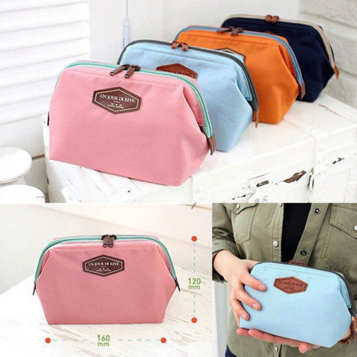 2018 New Fashion Hot Popular Multifunction Purse Box Travel Makeup Cosmetic Bag Toiletry Case Storage Pouch