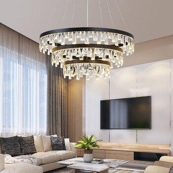 Candelabros Retro estilo americano iluminación de cristal LED para sala de estar dormitorio salón Hotel restaurante comedor moda DHL