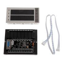 PLC FX1N 20MR & Rail Type Housing & PLC Display Relay Module Delay Module 10 28V