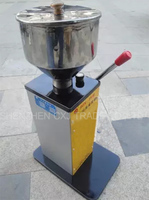 For Shipping Small Manual Filling Machine Paste Liquid Dual Purpose Cosmetic Filling Machine Quantitative Filling