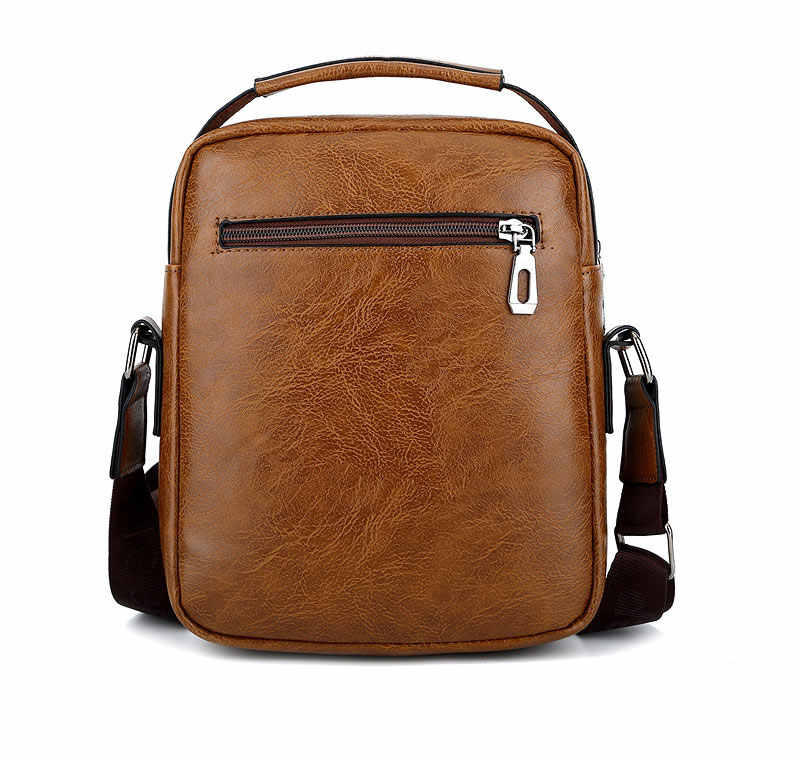 9edfe695b1 ... JEEP Sulppai Men Shoulder Bag with Quality Pu Leather Men Messenger Bag  Men Crossbody Bag of ...