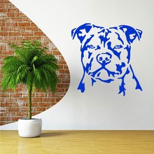 STAFFORDSHIRE BULL TERRIER vinyl wall art decal Home Decor