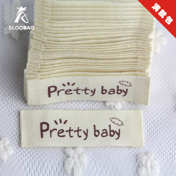 garment accessorie cotton clothing labels customized