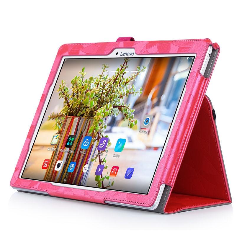 Funda con tapa de cuero de alta calidad para Lenovo Tab 2 A10-30F - Accesorios para tablets - foto 2