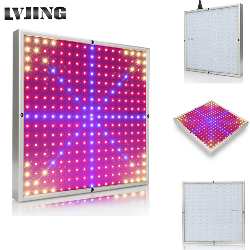 290LEDs 30W Plants Grow Light SMD3528 AC85~265V Led Indoor Plant Lamps For Hydroponics Vegetables And Flowering Potted Plant