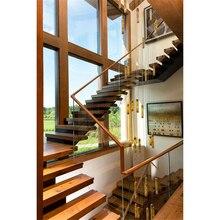 Австралия дом Крытый дисплей сборные деревянные ступеньки лестницы
