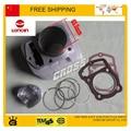 Loncin CB250 блок цилиндров в сборе 65.5 мм поршневых колец контактный прокладка головки блока цилиндров в сборе 250cc на квадроциклах байк аксессуары