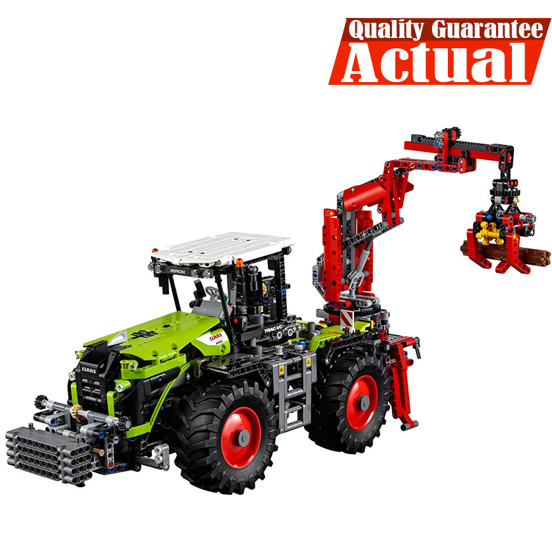 LEPIN 20009 1977pcs legoing Technic The Tractor Technical Model Building blocks Bricks Educational Toys For Children