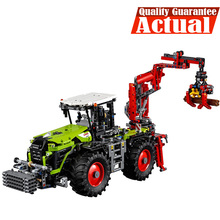 Лепин 20009 1977 шт. legoing техника трактор техническая модель строительные блоки кирпичи развивающие игрушки для мальчиков 42054