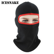 ICESNAKE Winter Warm Full Face Neck Mask Deodorant Hiking Motorcycle Headgear Training Outdoor Sports
