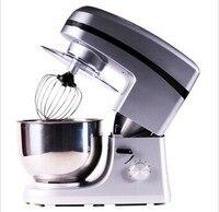Frete grátis casa multifuncional comercial 1000 w suporte mixer 7l  batedor  gancho de massa  batedor por topchef|dough hook|stand mixermixer 1000w -