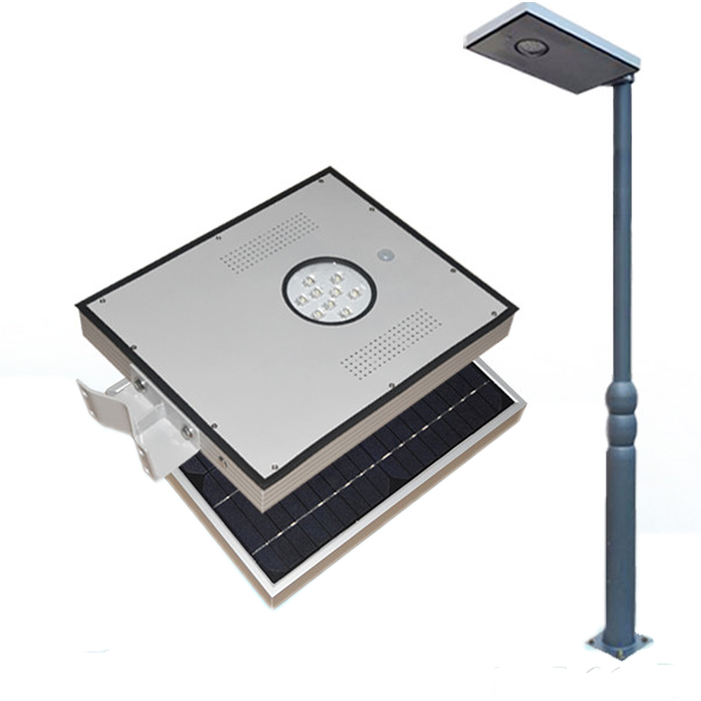 8w integrated solar led street light outdoor ip65 solar lamps with 8w integrated solar led street light outdoor ip65 solar lamps with infrared motion sensor light sensor for street garden economy in solar lamps from lights aloadofball