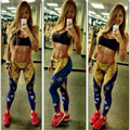 Jeggings For Women Slim Pants  Printing Venezuela  Flag  Aor Leggings Workout  Fitness Active Leggins  Just Do It