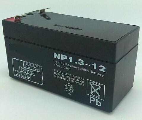 free shipping 12v 1 3ah lead acid battery rechargeable battery security door solar 12 v battery. Black Bedroom Furniture Sets. Home Design Ideas