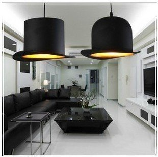 NEW New style Four color for you choose 2 pcs Lights Jeeves and Wooster Bowler/Tall Hat Ceiling Light Lighting /droplight right ho jeeves
