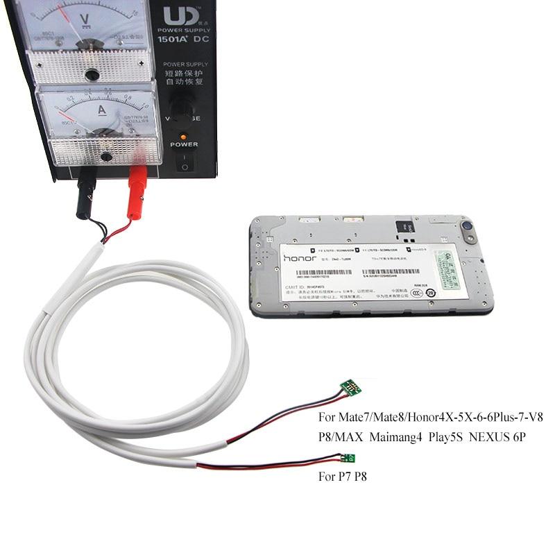 Uanme телефон, ток Тесты кабель постоянного тока Питание Провода для <font><b>Huawei</b></font> P7 P6 <font><b>P8</b></font>/Honor 4x 5x/mate7 8 /nexus6p сбоя обнаружения ремонт Инструменты