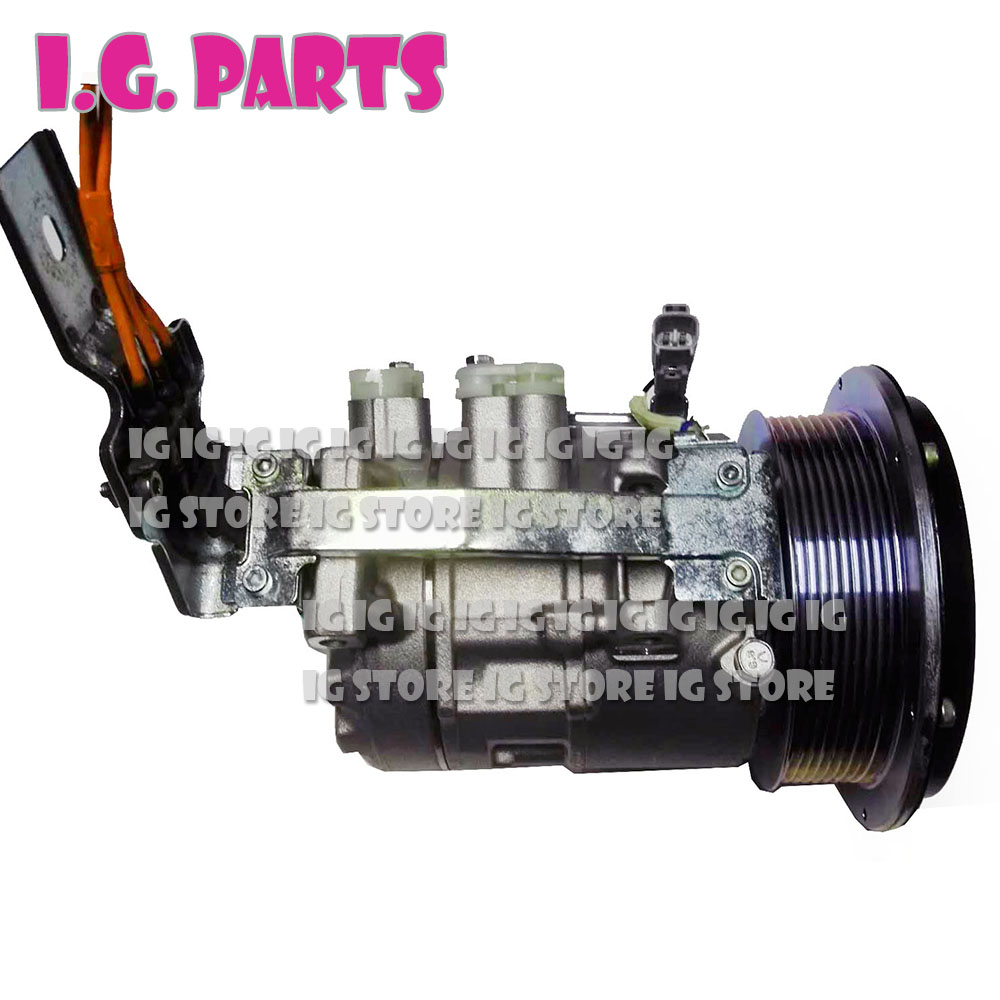 Auto Replacement Parts Air-conditioning Installation 6seu16c Ac Compressor For Toyota Alphard 2.4 Hybrid 9pk 88310-58011 447190-3340 Cmp1746 8831058010 4471807483 2003-2008 Strong Resistance To Heat And Hard Wearing