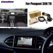 Liandlee парковка Камера Интерфейс заднего вида Камера Наборы для peugeot 308 T9 Дисплей обновления