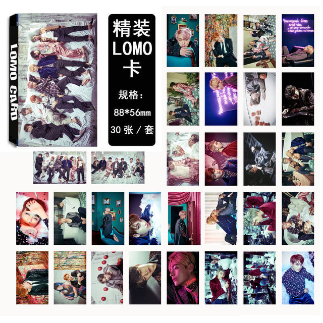 KPOP BAND PHOTO CARD