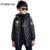 2016 Niños Casual, Además de Terciopelo Niños Cazadora Con Capucha Impermeable Chaqueta de Invierno Otoño Niños Deportes Outwear y Abrigos XL662