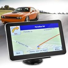 7 pulgadas Del Carro Del Coche de Navegación GPS Win CE 6.0 Pantalla Táctil 800×480 Multi-media Player con el Envío mapas