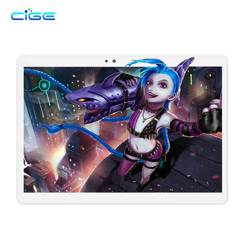 Cige Восьмиядерный Планшеты PC 10.1 Android 6.0 Оперативная память 64 ГБ Встроенная память 1920x1200 HD IPS GPS Bluetooth Планшеты шт Дети Подарочные DHL Бесплатная д...