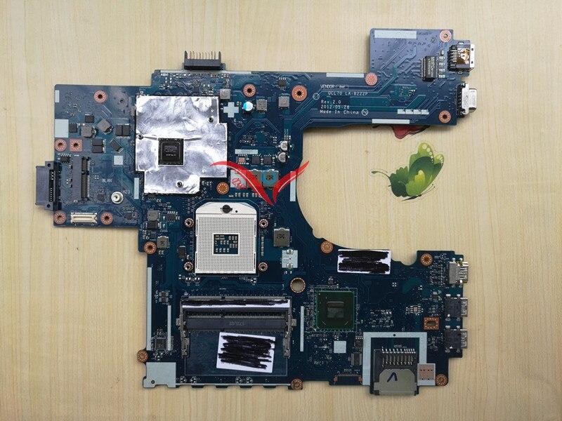 K75VM motherboard K75V K75VJ K75VM motherboard for ASUS R700VJ QCL70 LA-8222P GT 635M Laptop Motherboard