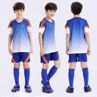 Soccer Suit Children's Suit Boy and Gril Football Jerseys Suit Breathable Training Suits Diy Shirt