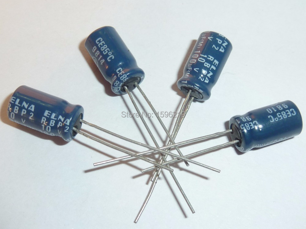 20pcs 10V100uF 10V Japan ELNA R3F 8x5mm High Quality Capacitor