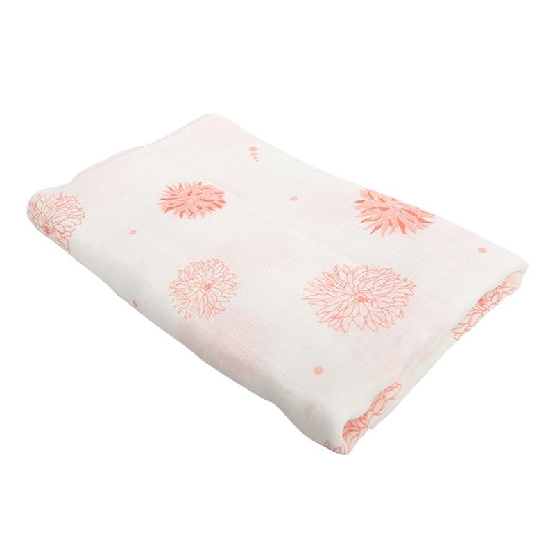 बेबी Swaddling कंबल लपेटें बांस फाइबर धुंध बहुत नरम और सांस वसंत गर्मियों में हॉट स्टाइल 120x120cm