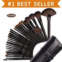 32Pcs Set Professional Makeup Brush Set Foundation Cosmetic Powder Multifunction Toiletry Brushes Make Up Brushing Kits