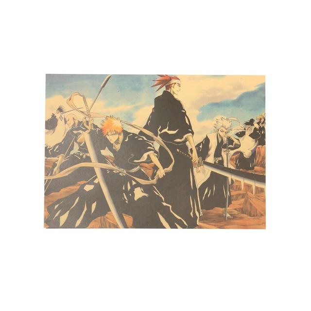 Bleach Old Retro Kraft Paper Poster