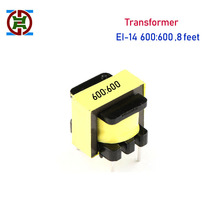 YDT 1 шт. EI-14 жесткая нога 4 ноги 600: 600 1:1 аудио изолирующий трансформатор цифровой изолирующий ox