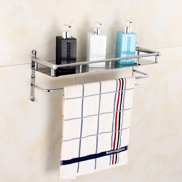 rose gold stainless steel shelf with hook bracket shelves. Black Bedroom Furniture Sets. Home Design Ideas
