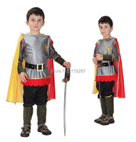 Roman Prince Masquerade Disfraces Halloween Costumes For Kids Children Cosplay Costumes King Of Roman Carnival Costume